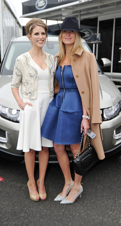 Emer Flanagan with Amy Huberman