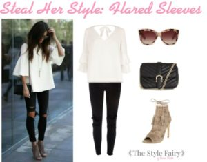 Steal Her Style: Flared Sleeves