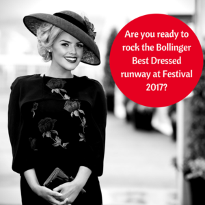 Bollinger Best Dressed Lady at Punchestown Festival