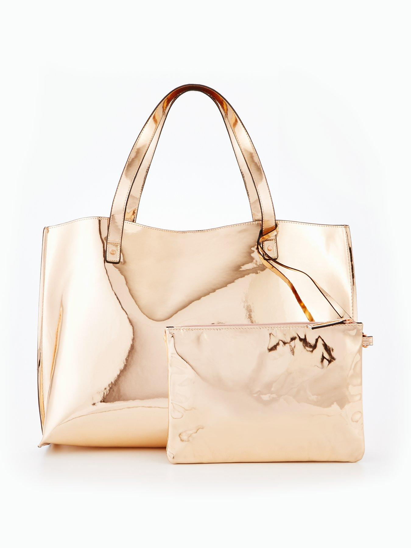 Metallic Beach Bag, €38 Shop here